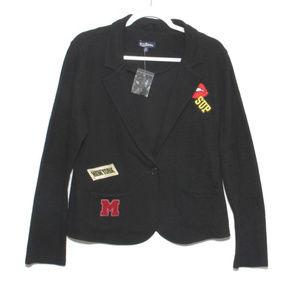 NWOT Freshman 1996 Knit letter jacket Size XL (Jr)
